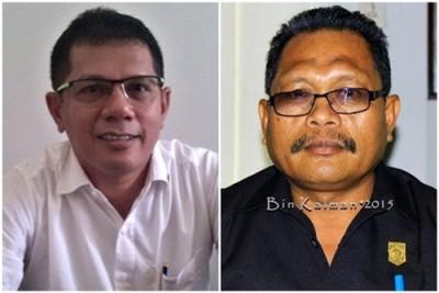 Ketua Komisi III dan Ketua Komisi II. Foto: Bin