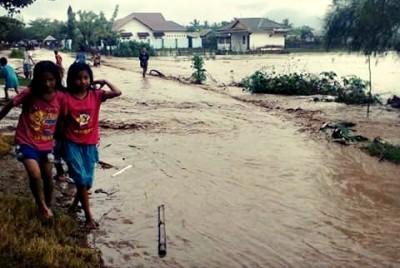 Kondisi Banjir di Bima
