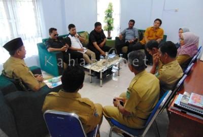 Kunjungan Monev Komisi III DPRD Kota Bima di BPBD. Foto: Ady