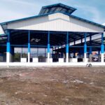Satu Los Baru Pasar Amahami Ditempati Pedagang Ikan