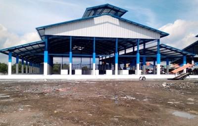 Los baru Pasar Semi Modern Amahami. Foto: Bin