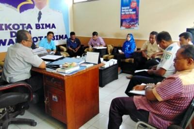 Monev Komisi III DPRD Kota Bima di Dishubkominfo. Foto: Ady