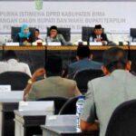 Dewan Umumkan Bupati dan Wakil Bupati Bima Terpilih