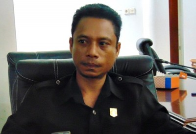 Pimpinan DPRD Kota Bima, Syahbudin. Foto: Bin