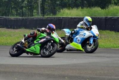 Putra Sang Bima saart latihan dengan pembalap Asia