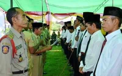Sekdes di Kecamatan Lambu dilantik. Foto: Hum