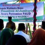 Walikota Bima Resmikan PAUD Khadijah, TPQ dan Madin