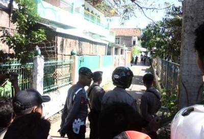 Suasana Setelah Penyergapan terduga teroris di Penatoi. Foto: Ady
