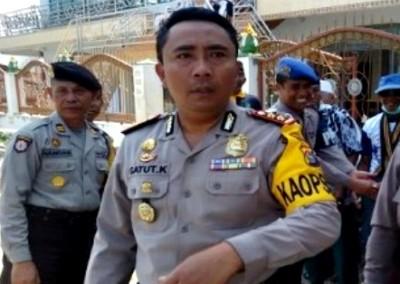Kapolres Bima, AKBP Gatut Kurniadin.