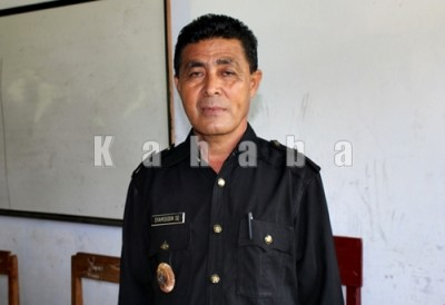 Kepala Desa Punti, Syamsudin. Foto: Deno