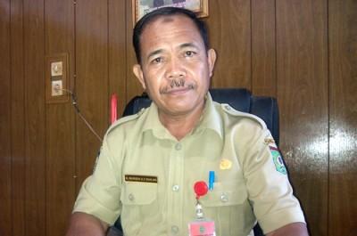 Kepala Dinsosnaker Kota Bima, H. Muhidin. Foto: Eric
