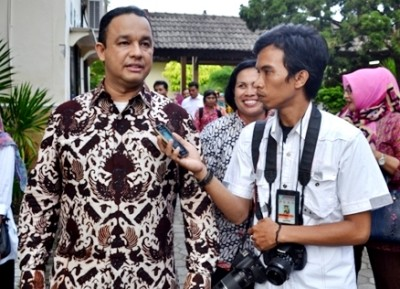 Mendikbud RI saat diwawancara Kahaba.net. Foto: Bin