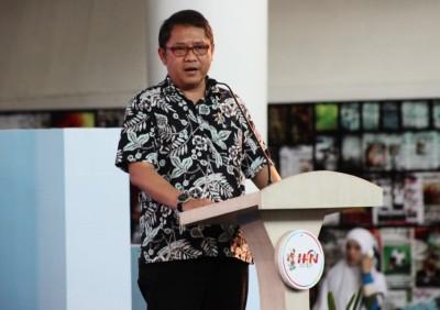 Menkominfo RI, Rudiantara saat membuka HPN di Lobar NTB. Foto: Bin