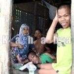 Tiga Bersaudara Idap Polio ini Tinggal di Gubuk Nyaris Roboh