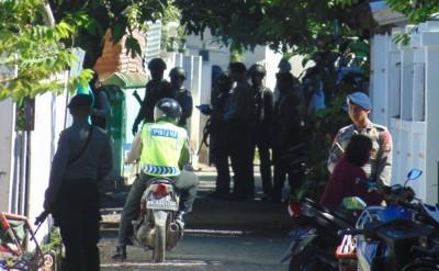 Suasana Penyergapan Terduga Teroris di  Penatoi. Foto: Ady
