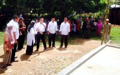 Wawali saat mengunjungi Kelompok Tani Kawinda. Foto: Hum