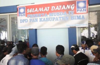 Suasana Musda PAN. Foto: Ady