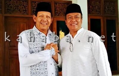 H. Sutarman dan Ketua Umum LPKP-NT H. Zainul Arifin. Foto: Bin