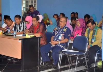 Jajaran SKPD saat mengikuti persiapan Musrenbang. Foto: Hum