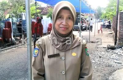 Kabid P2PL Dikes Kota Bima, Nuriyah. Foto: Bin
