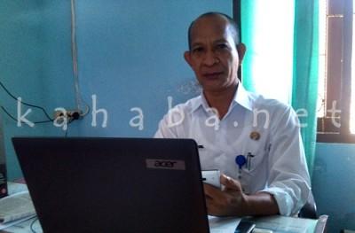 Kabid Pengkajian Masalah Strategis dan Penanganan Konflik Bakesbangpol Kota Bima  Sugiharto. Foto: Eric