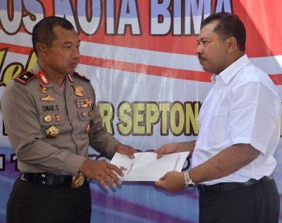 Kapolda NTB dan Walikota Bima. Foto: Hum