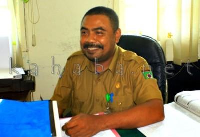 Kasubag Program dan Litbang AP dan LPBJ Setda Kota Bima, Adilansyah. Foto: Deno