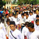 Partisipasi Rakyat di Pawai HUT Kota Bima ke 14, Luar Biasa
