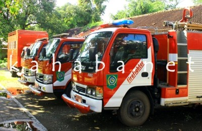 Mobil Damkar BPBD Kabupaten Bima. Foto: Deno