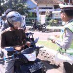 Tidak Taat Aturan, Ribuan Pengendara Ditegur Polisi