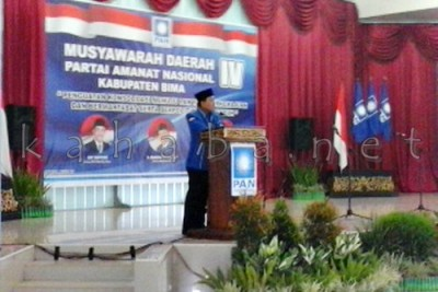 Musda PAN Kabupaten Bima. Foto: Ady