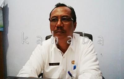 Sekretaris BKD Kota Bima H. Mahfud. Foto: Bin