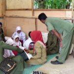 Siswa SLB Nurul Ilmi Karumbu Belajar di Lantai