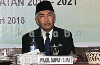 Wakil Bupati Bima Dahlan M. Noer