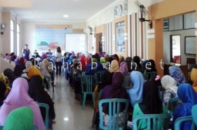 Kegiatan Pelatihan Kader Kesehatan yang digelar Pertamina di Kecamatan Raba. Foto, Ady