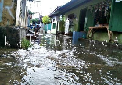 Banjir di Kelurahan Tanjung.