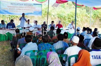 DPRD Kota Bima Dapil III Reses di Kelurahan Rabadompu Timur. Foto: Ady