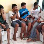 Pesta Ganja, 8 Pemuda ini Diringkus