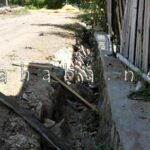 Pembukaan Jalan Tani Merusak Drainase