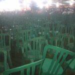 Haflah Al Quran HUT Kota Bima, Kursi Banyak Kosong