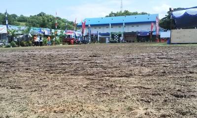 Kondisi Lapangan studion Manggemaci. Foto: Bin