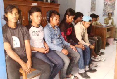 Warga Bandung terlantar di Kota Bima. Foto: Bin