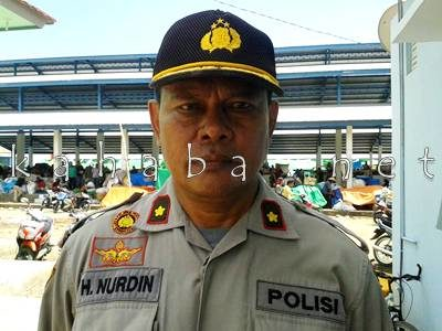 Kabag OPS Polres Bima Kota Kompol. H. Nurdin. Foto: Noval