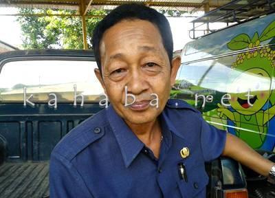 Kabag Umum Setda Kabupaten Bima, H. Budiman. Foto: Noval