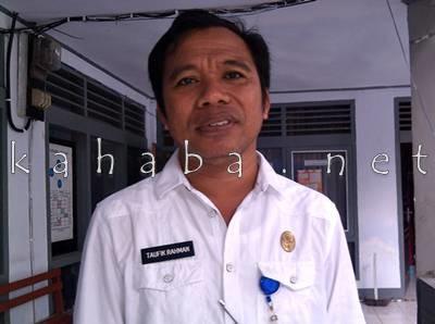 Kabid Dikdas Dinas Dikpora Taufikurahman. Foto: Eric