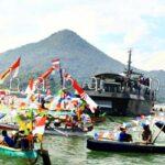 Kapal Perang Ikut Mariahkan Festival Teluk