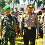 Kapolda NTB Pimpin Simulasi Pengamanan Kunjungan Presiden di Kota Bima