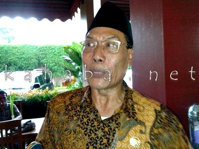 Kepala Kanwil Kementrian Agama Provinsi NTB H. Sulaiman Hamid. Foto: Teta