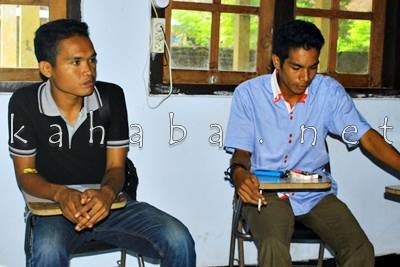 Ketua BEM STISIP dan STKIP Bima. Foto: Deno