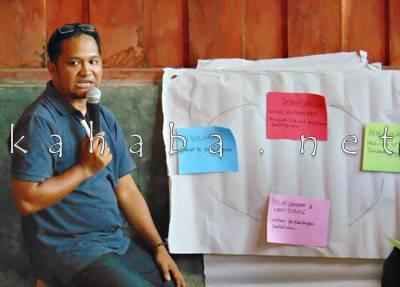 Ketua PC Lakpesdam NU Kabupaten Bima, Asrul Raman. Foto: Ady
